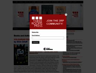 threeroomspress.com screenshot