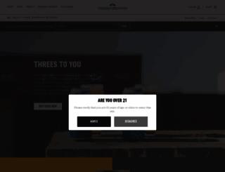 threesbrewing.com screenshot
