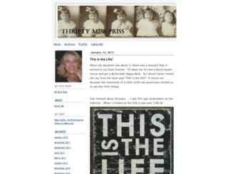 thriftymissprissy.typepad.com screenshot