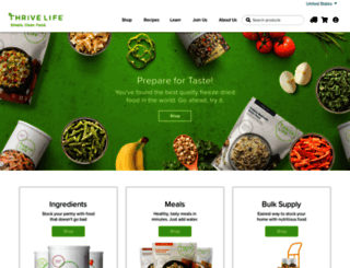 thrivelife.com screenshot