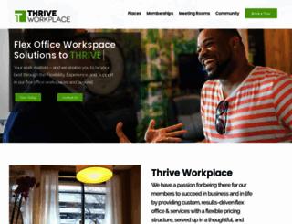 thriveworkplace.com screenshot