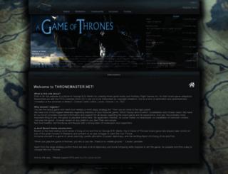 thronemaster.net screenshot