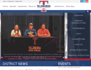 ths.talawanda.org screenshot