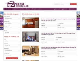 thuechungcuhn.com screenshot