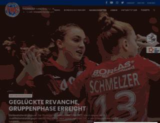 thueringer-hc.de screenshot