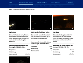thueringer-webcams.de screenshot