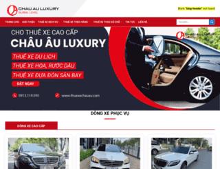 thuexechauau.com screenshot