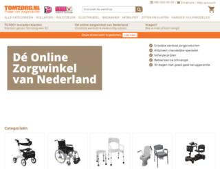 thuis-zorgoutlet.nl screenshot