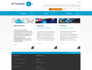 thuiskopie.nl screenshot