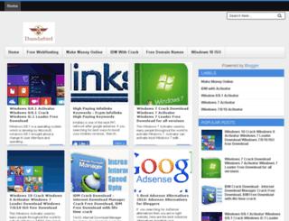 thundarbird.com screenshot