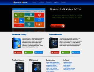 thundershare.net screenshot