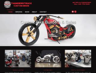thunderstruckcustombikes.com screenshot
