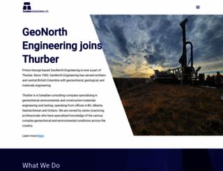 thurber.ca screenshot