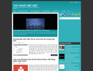 thuthuatnetviet.blogspot.com screenshot