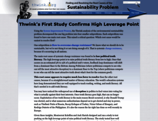 thwink.org screenshot