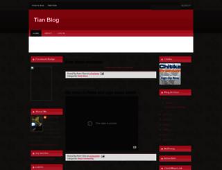 tianblog.blogspot.com screenshot
