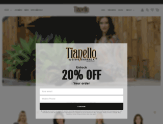tianello.com screenshot