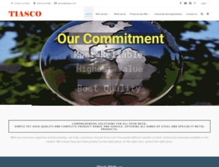 tiasco.com screenshot