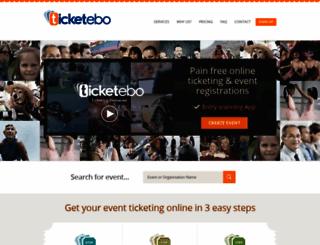 ticketebo.com.au screenshot