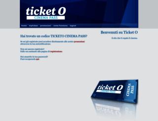 ticketo.it screenshot