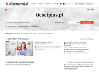 ticketplus.pl screenshot