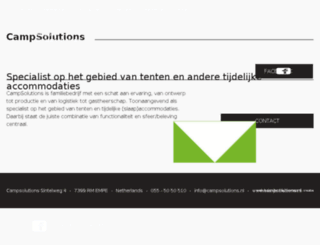 tickets.campsolutions.nl screenshot