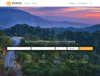 tickets.co.th screenshot
