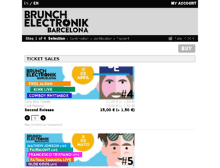 tickets.piknicelectronik.es screenshot