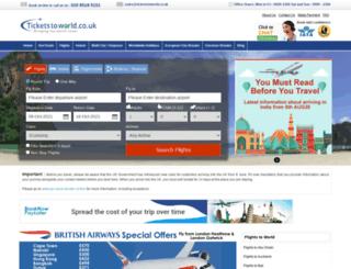 ticketstoworld.co.uk screenshot