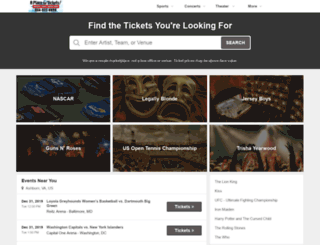 ticketsus.com screenshot