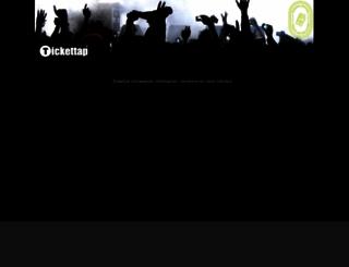 tickettap.com.mx screenshot