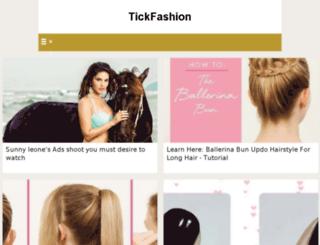 tickfashion.com screenshot