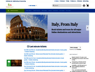 tickitaly.com screenshot