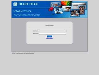 ticormc.corefact.com screenshot