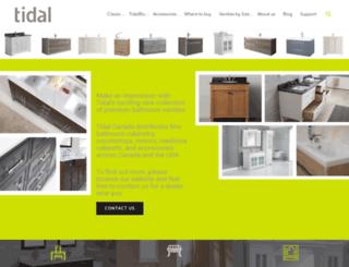 tidalbath.com screenshot