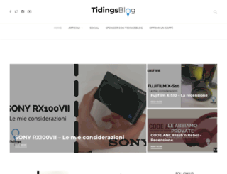 tidingsblog.com screenshot