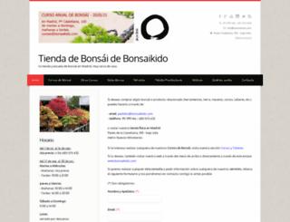 tienda-bonsai.com screenshot