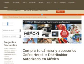 tienda.mexplora.com screenshot