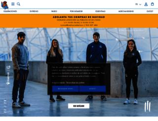 tienda.realsociedad.com screenshot