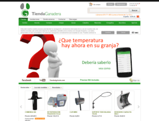 tiendaganadera.com screenshot