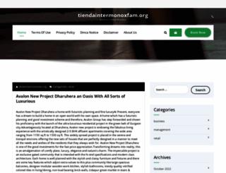 tiendaintermonoxfam.org screenshot