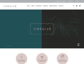 tiendasingular.cl screenshot