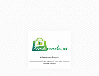 tiendaverde.es screenshot