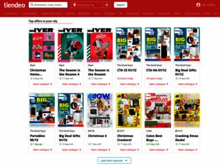 tiendeo.com.au screenshot