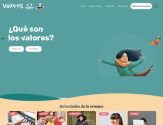 tieneselvalorotevale.com screenshot
