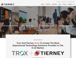tierneybrothers.com screenshot