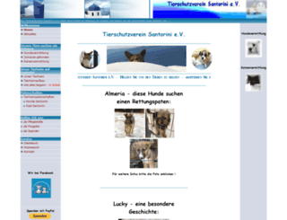 tierschutzverein-santorini.de screenshot