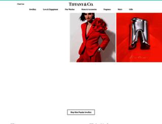tiffany.com.au screenshot