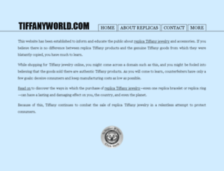 tiffanylovers.net screenshot