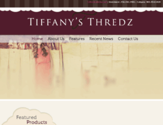tiffanysthredz.ca screenshot
